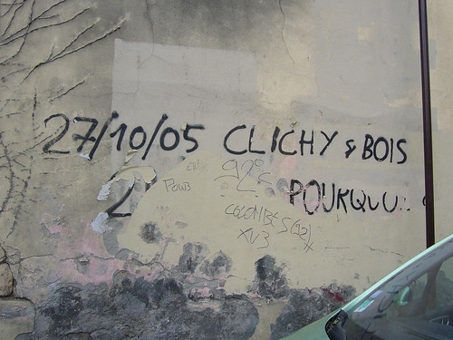 27/10/05 Clichy sous Bois Why?