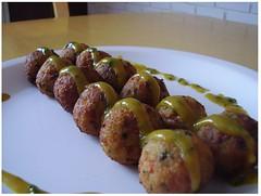 street food, meat, food, dish, kebab, cuisine, meatball,