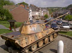 Panther at Houffalize, Ardennes, Belgium