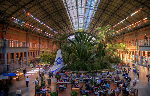 Atocha Railway Station, Madrid
