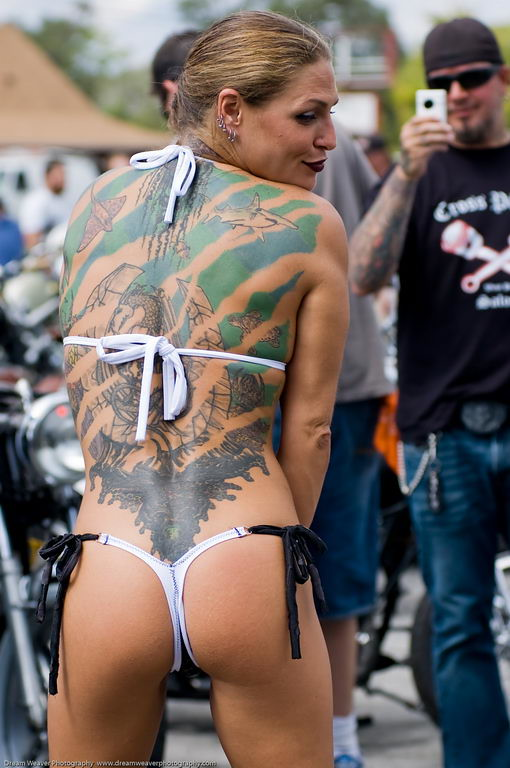 Desnudos daytona bike pics of naked chics