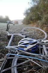 Frost on Bike