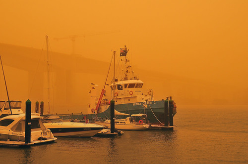 Dust Storm Boat
