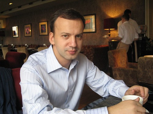 Lunch with Arkady Dvorkovich