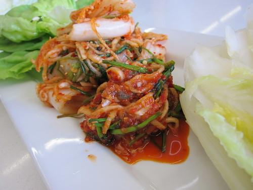 Making Kimchi: Bossam