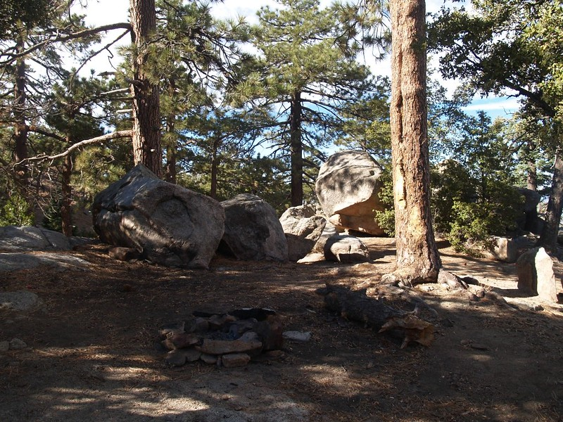One of the Santa Rosa Campsites