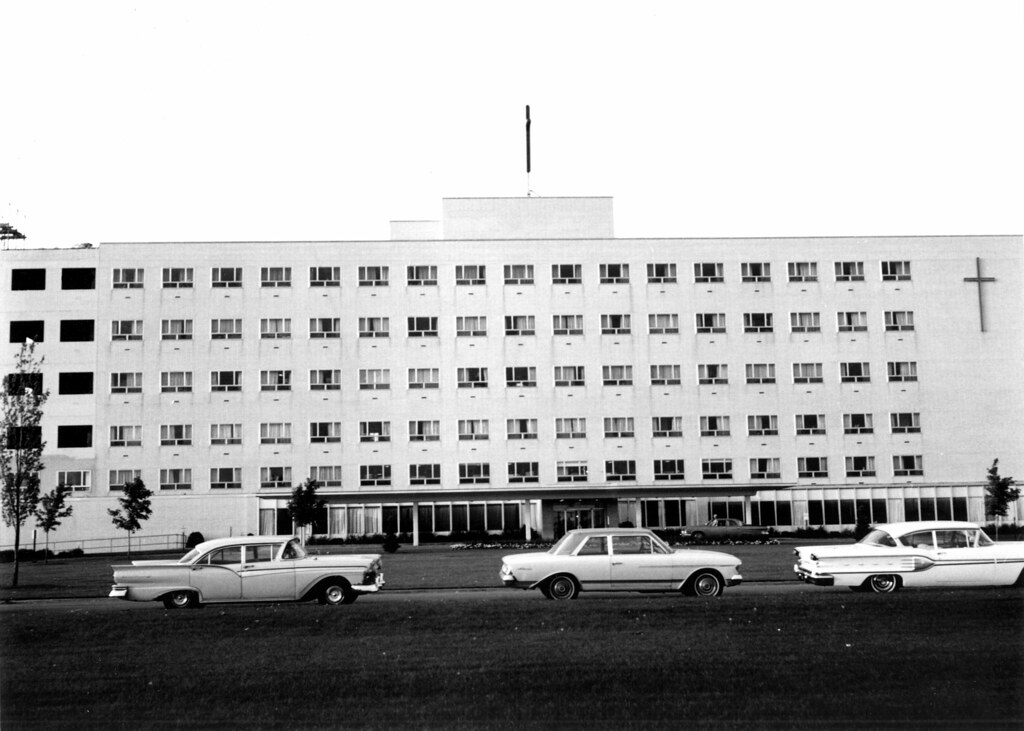 Christ Hospital as it appeared in 1964.
