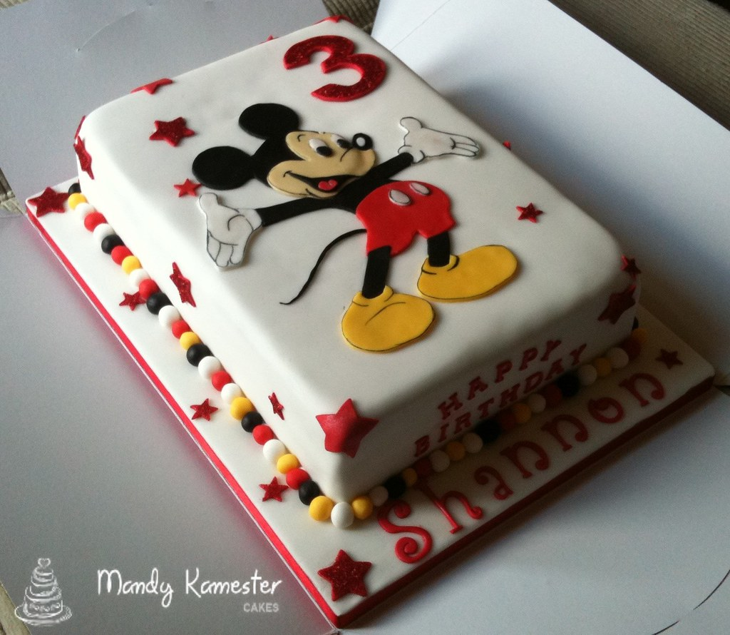 Mickey Mouse Birthday Cake Games