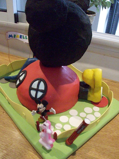 TORTA LA CASA DE MICKEY MOUSE!! | Flickr - Photo Sharing!