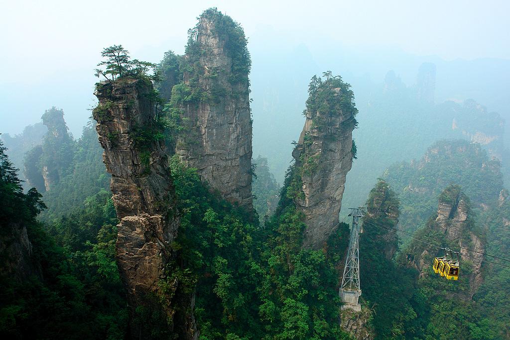 Parque nacional de Zhangjiajie, Hunan, China