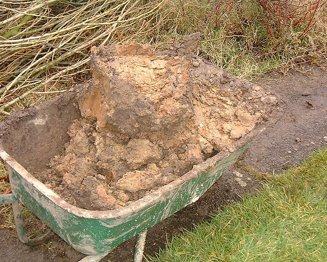 Clay soil flickr photo sharing for Soil drainage system