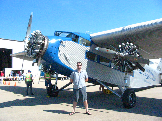 ford tri motor airplane rides