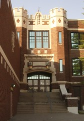 Lockland High School, entrance 10