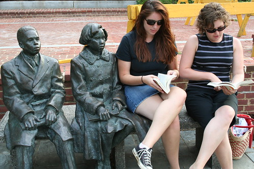 reading, together