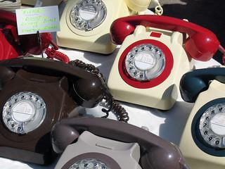 Old British telephones