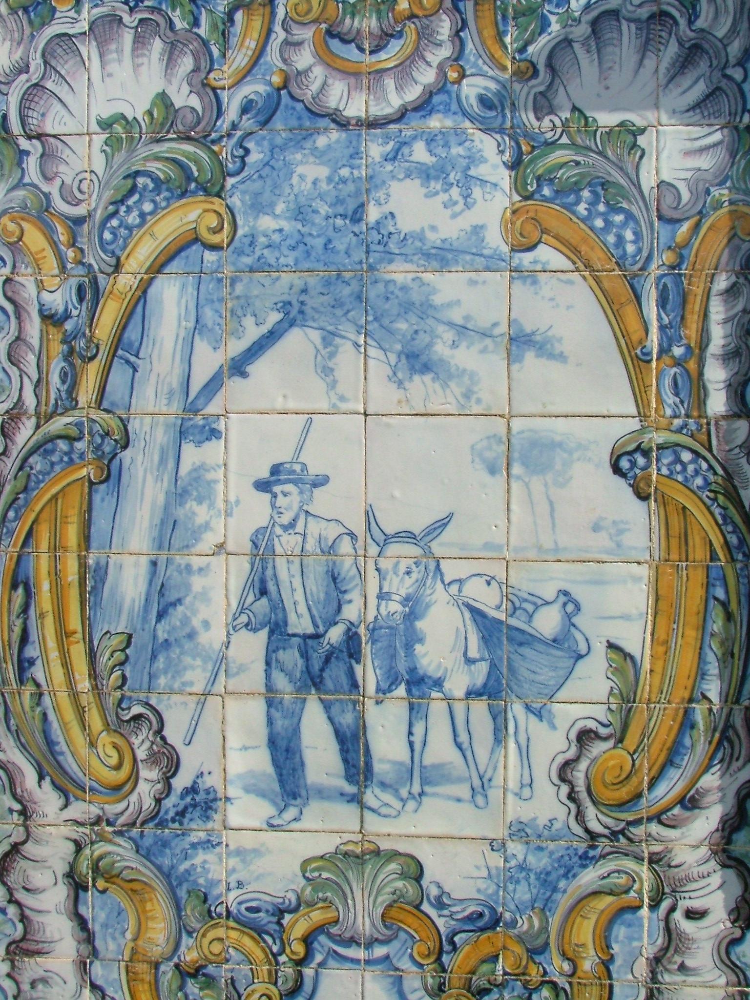 1000 imagens sobre azulejos e mosaicos portugueses no for Azulejos sobre azulejos