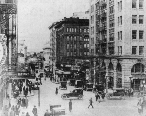 Broadway at Alder, 1925