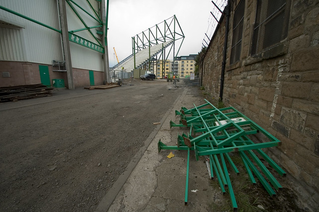 East Stand Construction 013