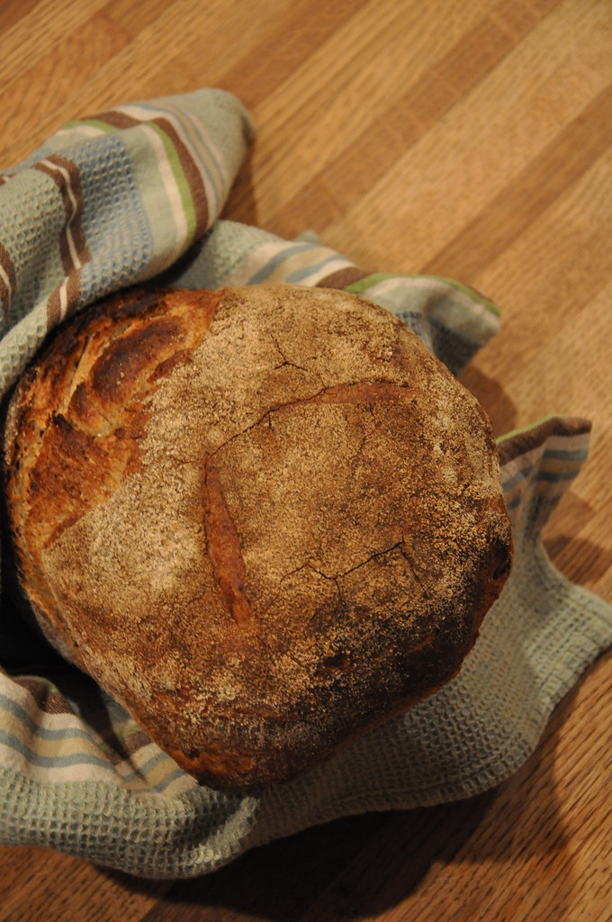 Polish Cottage Rye Sourdough Loaf