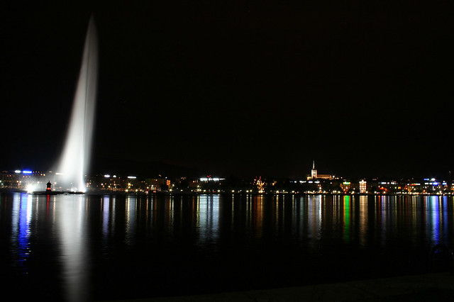 Jet d'Eau, Geneva.