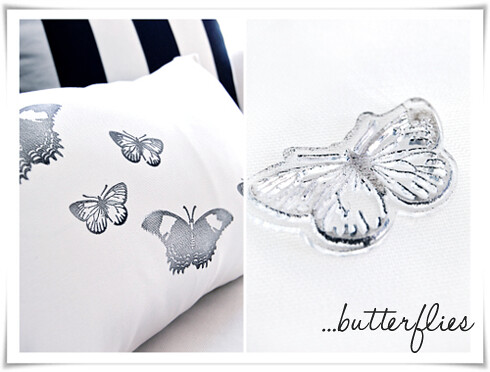 DIY: Butterfly pillow
