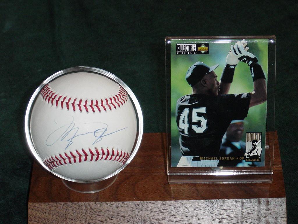 Michael Jordan Baseball Card Baseball Card
