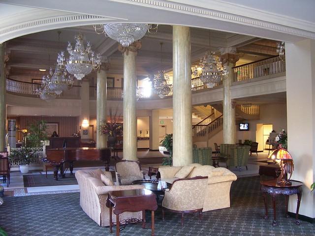hotel utica lobby new york flickr photo sharing. Black Bedroom Furniture Sets. Home Design Ideas