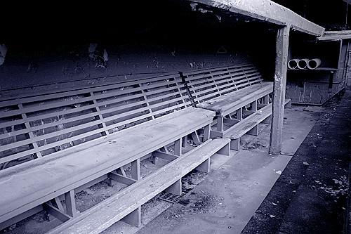 Baseball Dugout Bench