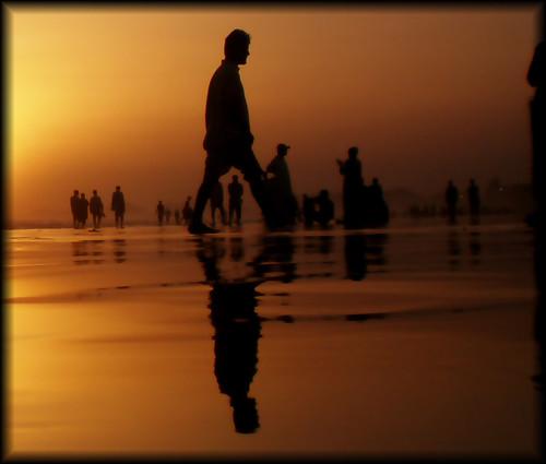 pakistan sea sky art water colors silhouette clouds golden view karachi clifton sindh khatri fe180 aliraza thatsclassy