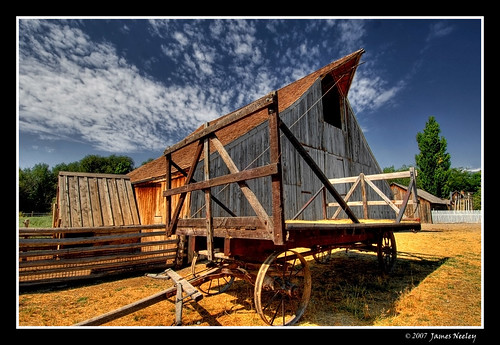 The Old Hay Wagon