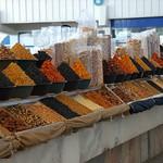 Dried Fruits and Nuts at Gulustan Market - Ashgabat, Turkmenistan