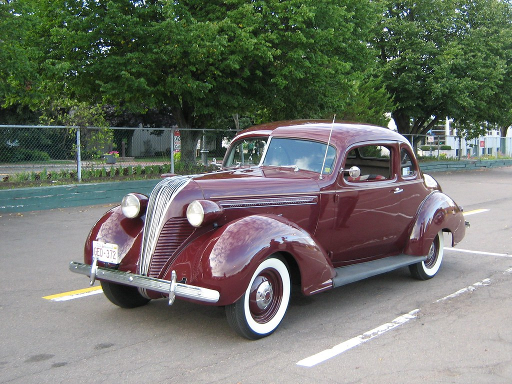 1937 Hudson Terraplane coupe - a photo on Flickriver