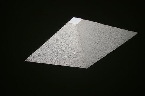 Skylight Pyramid - Optical Illusion