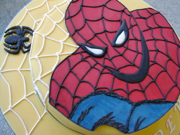 Spiderman Birthday Cake on Spiderman Cake 1 This Birthday Cake Is For My Best Friend S Son It Was