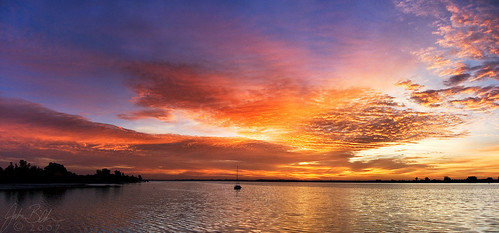 usa water sunrise landscape boat florida ellenton yourcountry