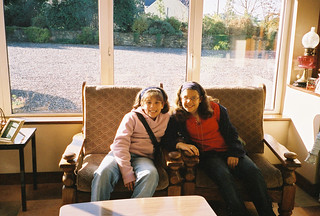 Alison and Kristen in Ireland 2002