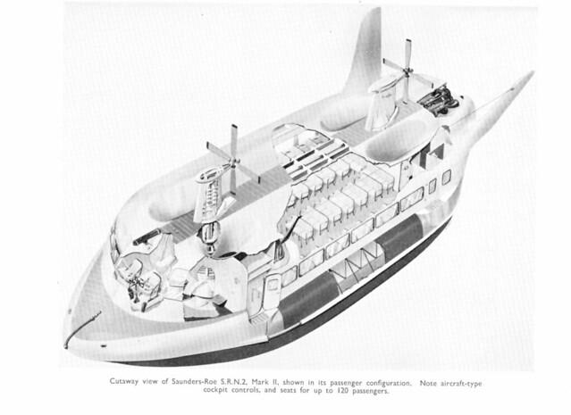 Proposed Westland Srn2 Hovercraft Mark Ii  1962