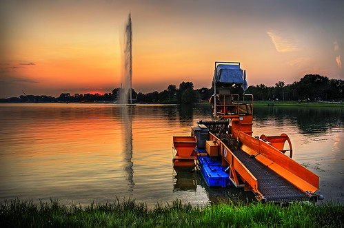 sunset sky lake reflection nature water grass clouds landscape boat serbia belgrade nautic