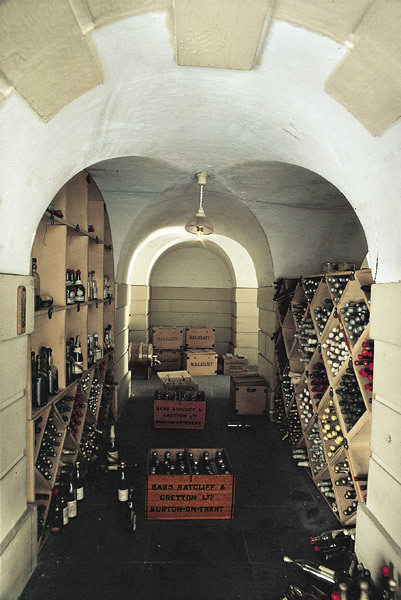 the wine cellar in queen mary s dolls house flickr