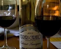 wine glass, wine, stemware, glass, red wine, drink, alcoholic beverage,