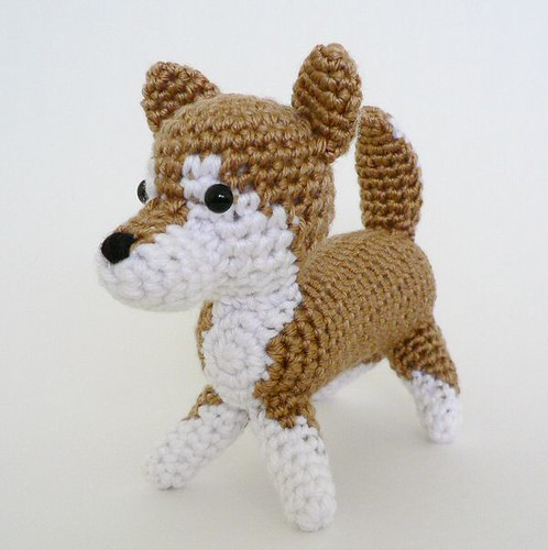 Free Crochet Patterns For Dogs : AmiDogs Shiba Inu crochet amigurumi Flickr - Photo Sharing!