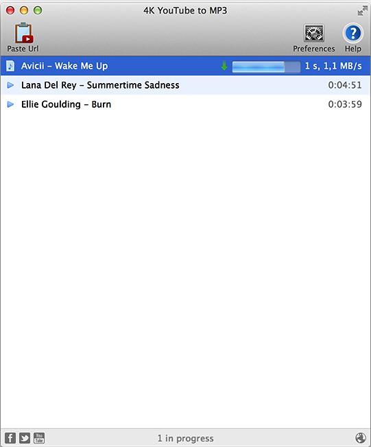 4k youtube to mp3 key mac
