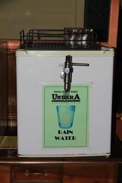 澳洲昆士蘭Undara Experience-雨水回收處理的飲用水-20141117-賴鵬智攝