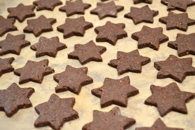 Weihnachtsplätzchen Schoko-Lebkuchen