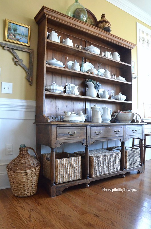 Organizing And Refreshing The Dining Room