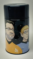 An Event Apart 2013 limited edition thermos; illustration by Kevin Cornell — with Eric Meyer.