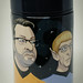 An Event Apart 2013 limited edition thermos; illustration by Kevin Cornell — with Eric Meyer. by Jeffrey