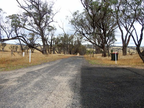 White Rock Road - end of the road 8km