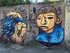 Bello sábado junto a @unrovoc @martanoemi.n y @fio.silva en barracas. Tiempo hacia que no pintaba junto a fifiou!  ♡◇♧ bueno volver a pintar juntos! :)