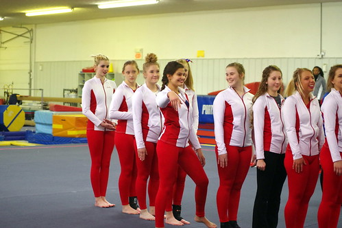 Gymnastics vs Matinsville